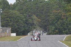 Dane Cameron en tête de course durant le tour 6