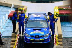 Troisième place pour Rizal Sungkar et son copilote Anthony Sarwono