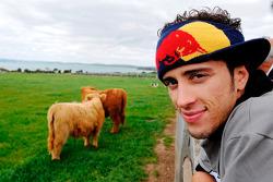 Andrea Dovizioso visits Phillip Island