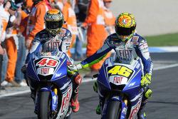 Jorge Lorenzo ve Valentino Rossi
