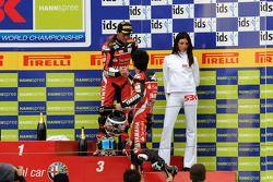 Podium: third place Troy Corser, second place Noriyuki Haga