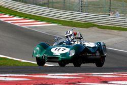 Jim Woodley et Rupert Wood, Lotus 17, 1958