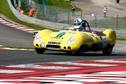 Neil Twyman et Joe Twyman, Lotus 11 S2, 1957
