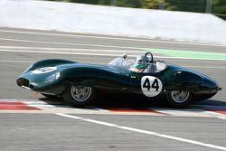 Carlos Monteverde et Gray Pearson, Lister-Jaguar Costin, 1958