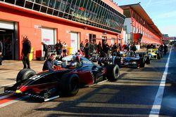 Top Speed WS Dallara Renault: #22 Jens Renstrup,, et #23 Ingo Gerstl,