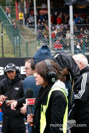 Spanish TV crew