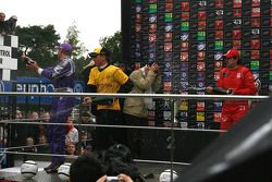 Le podium; 1st Adrian Valles - Liverpool FC, 2nd Craig Dolby - RSC Anderlecht Astromega, 3rd Paul Me