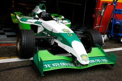 The winning car, Beijing Guoan Zakspeed