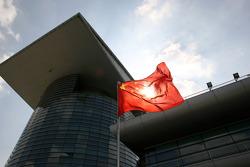 Chinese flag padok