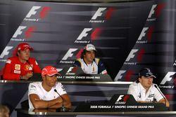 Пресс-конференция FIA в четверг: Кими Райкконен, Scuderia Ferrari, Льюис Хэмилтон, McLaren Mercedes,