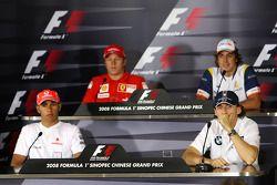 Пресс-конференция FIA в четверг: Льюис Хэмилтон, McLaren Mercedes, Кими Райкконен, Scuderia Ferrari,