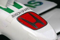 Le nez de la Honda Racing F1 Team de Jenson Button