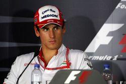Пресс-конференция FIA: Адриан Сутиль, Force India F1 Team