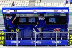 Пит-уолл команды Fiat Yamaha
