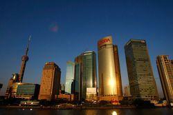 Шанхай, центр города
