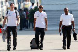 Lewis Hamilton, McLaren Mercedes su padre Anthony Hamilton