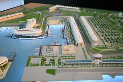 Model of the Yas Marina Circuit in Abu Dhabi