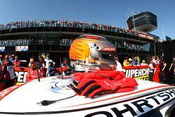 Casque de Garth Tander (Toll Holden Racing Team Commodore VE)