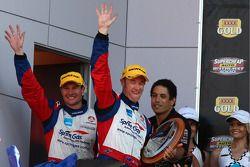 Jason Richards et Greg Murphy prennent la deuxième place