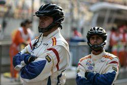 Mécaniciens du Barwa International Campos Grand Prix