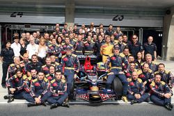 Scuderia Toro Rosso team shot, Sebastian Vettel, Scuderia Toro Rosso, Sebastien Bourdais, Scuderia T