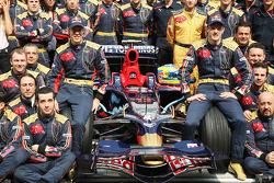 Scuderia Toro Rosso team, Sebastian Vettel, Scuderia Toro Rosso, Sébastien Bourdais, Scuderia Toro R