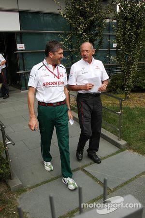 Ник Фрай, Honda Racing F1, Рон Деннис, McLaren