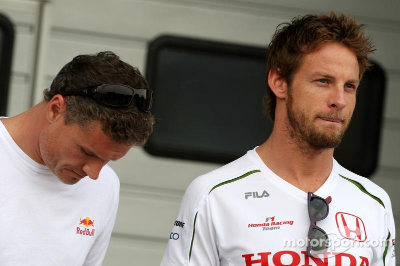 David Coulthard, Red Bull Racing, Jenson Button, Honda Racing F1 Team