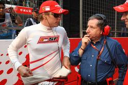 Kimi Raikkonen y Scuderia Ferrari, Jean Todt, Scuderia Ferrari, Director General de Ferrari