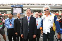 Flavio Briatore, Director de general de Renault F1 Team, jefe del equipo,