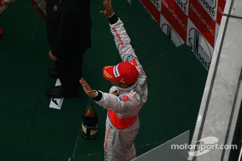 9- GP da China 2008, McLaren