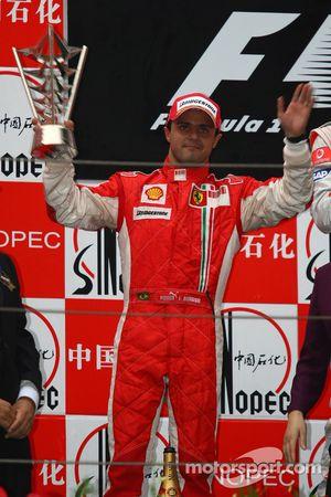 Podio: segundo lugar Felipe Massa