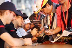 Sebastien Bourdais ve Sebastian Vettel