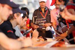 Sebastien Bourdais, Sebastian Vettel ve Mark Webber