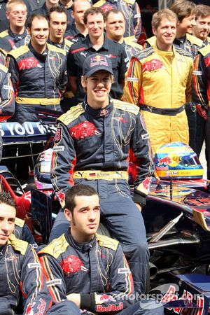 Scuderia Toro Rosso team, Sebastian Vettel