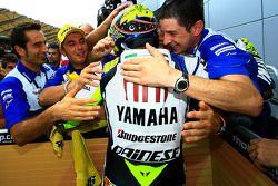 Победитель гонки - Валентино Росси