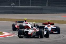 Kamui Kobayashi leads Hamad Al Fardan and Nelson Philippe