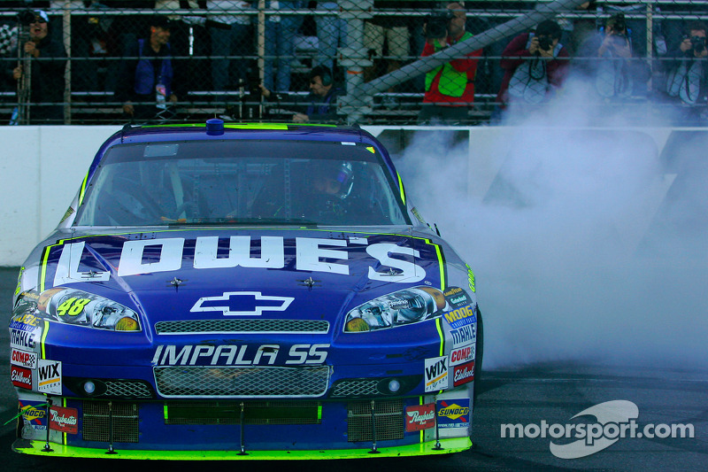 2008, Martinsville 2: Jimmie Johnson (Hendrick-Chevrolet)