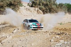 #16 Mazen Tantash Subaru Impreza: Mazen Tantash et Yousef Al Asmar