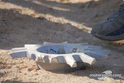 Crashes #2 Amjad Farrah Mitsubishi Lancer Evo 9: Amjad Farrah et Nicola Arena