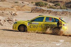#10 City of Arabia Subaru Impreza N14: Suheil Al Maktoum et Ahmad Ghaziri