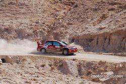 #2 Amjad Farrah Mitsubishi Lancer Evo 9: Amjad Farrah et Nicola Arena