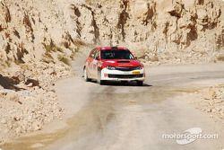 #9 Shanfari Racing Subaru Impreza: Nizar Al Shanfari et Daniel Barritt