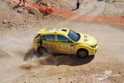#3 City of Arabia Subaru Impreza N14: Michel Saleh et Ziad Chehab