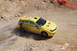 #3 City of Arabia Subaru Impreza N14: Michel Saleh and Ziad Chehab