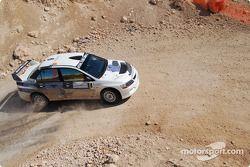 #6 Nick Georgiou Mitsubishi Lancer Evo 9: Nick Georgiou et Joseph Matar