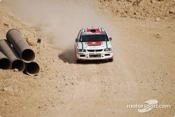#5 Ameer Al Najjar Mitsubishi Lancer Evo 9: Ameer Al Najjar et Nicola Fanous