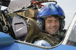 Sébastien Loeb with the Patrouille de France in France's Provence region and the French Alps