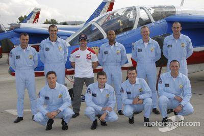 Sébastien Loeb et la Patrouille de France