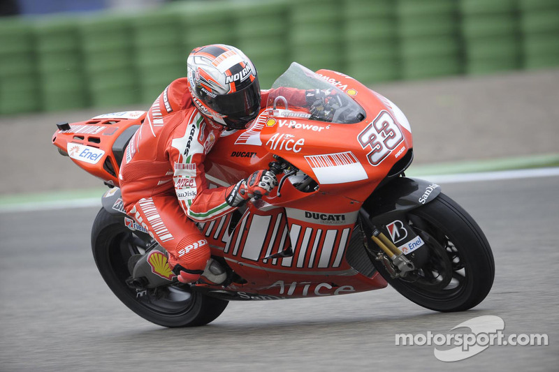 Ducati Desmosedici 2008 - Marco Melandri